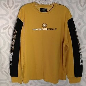 América Eagle T-SHIRT LONG SLEEVE Outfitters